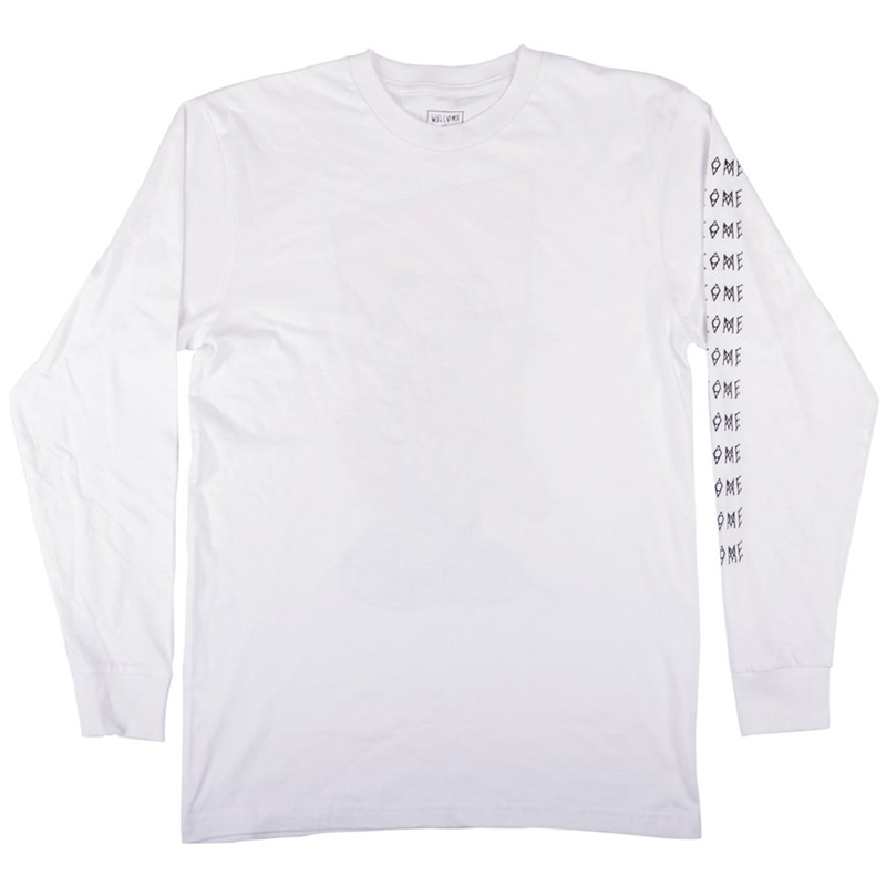 Welcome Twenty Eyes Longsleeve T-shirt White