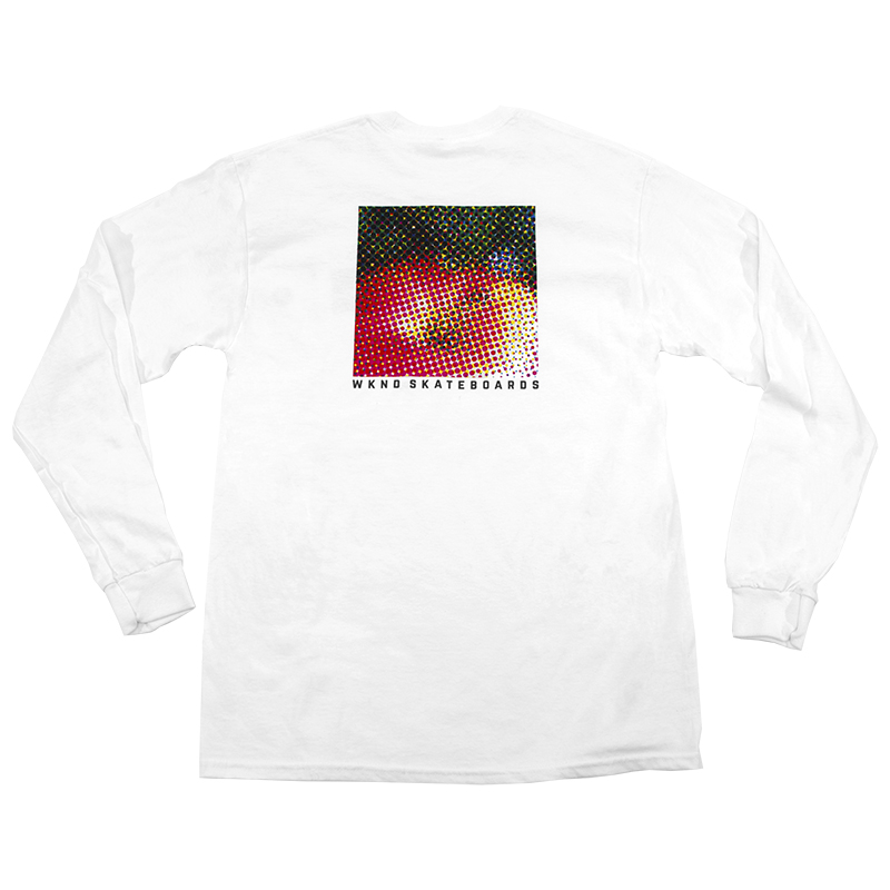 WKND Apple Longsleeve T-Shirt White
