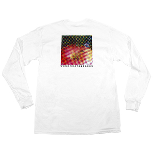 WKND Apple Longsleeve T-Shirt White