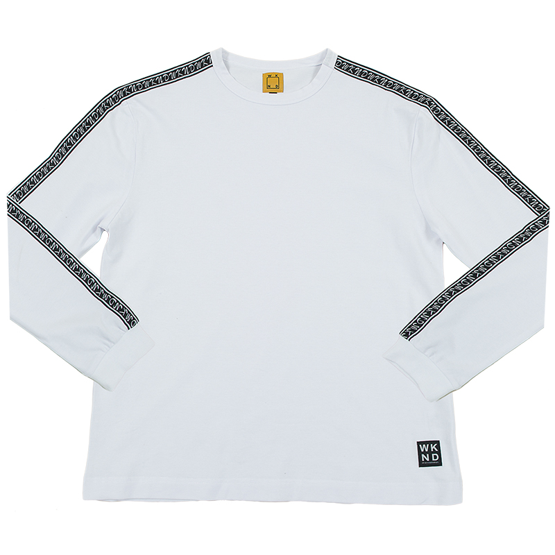 WKND Flip The Script Longsleeve T-Shirt White