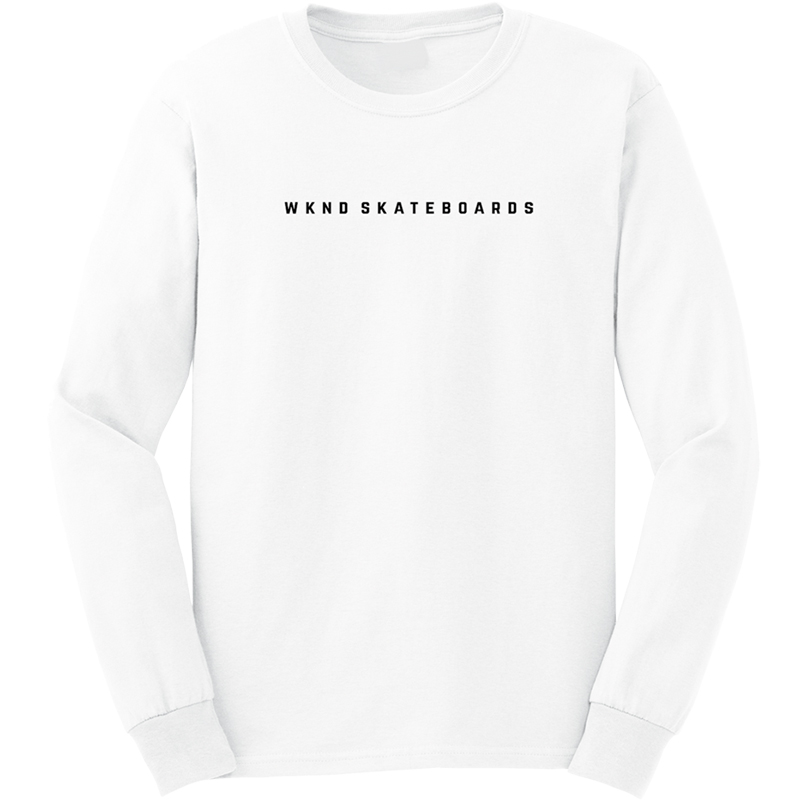 WKND Snakes Longsleeve T-Shirt White