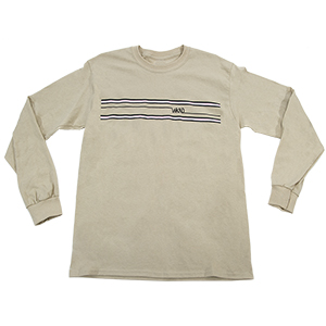 WKND Stripes Longsleeve T-Shirt Sand