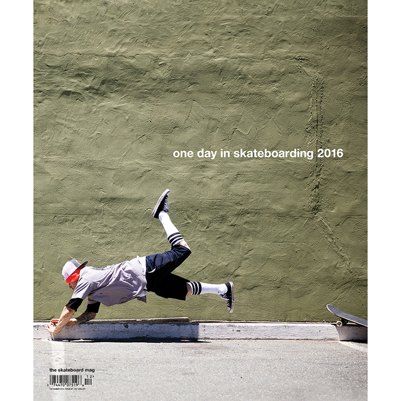 The Skateboard Mag 153 Dec 2016
