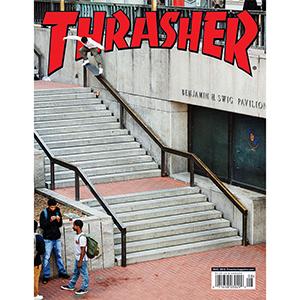 Thrasher Magazine August 2018