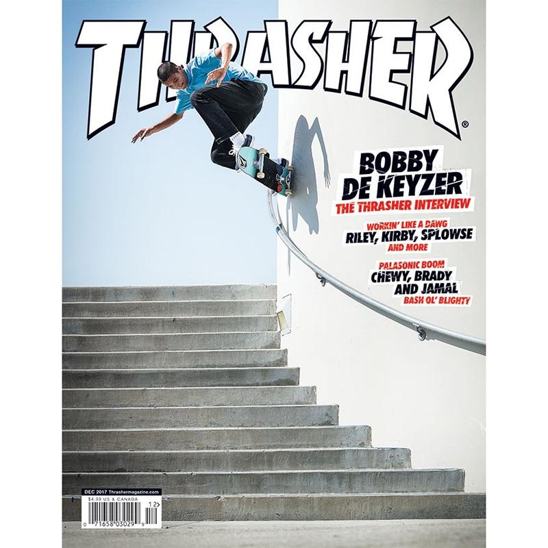 Thrasher Magazine December 2017