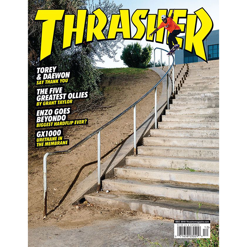 Thrasher Magazine December 2018