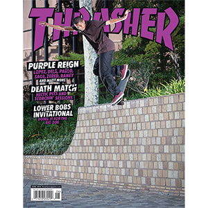Thrasher Magazine June 2018