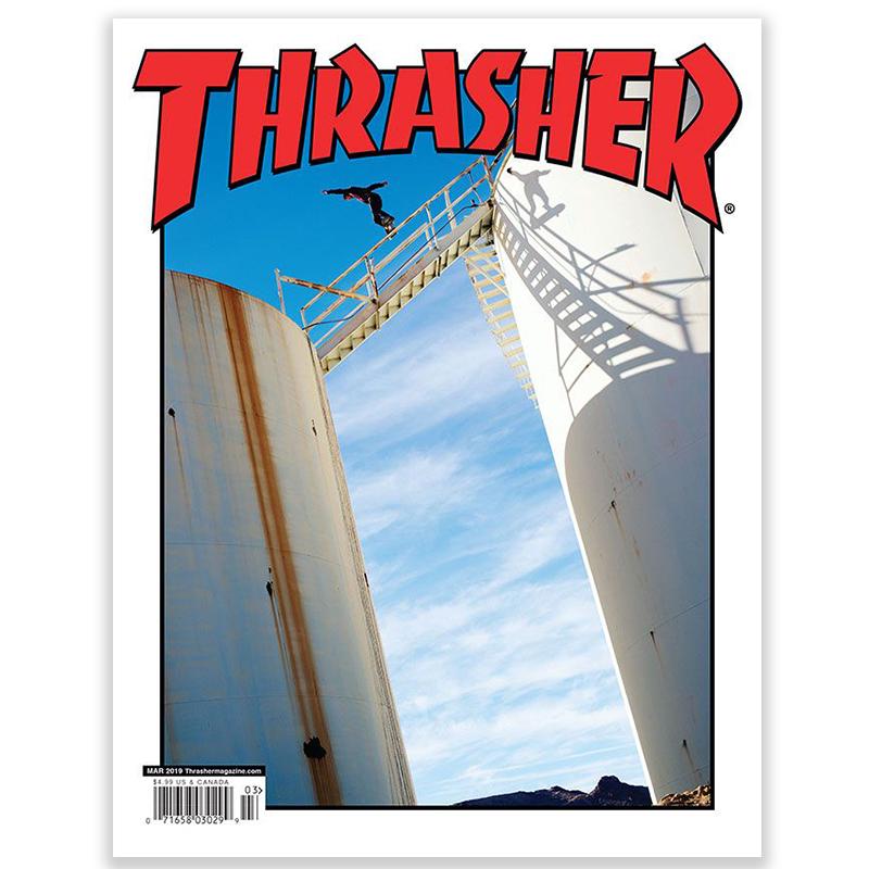 Thrasher Magazine March 2019