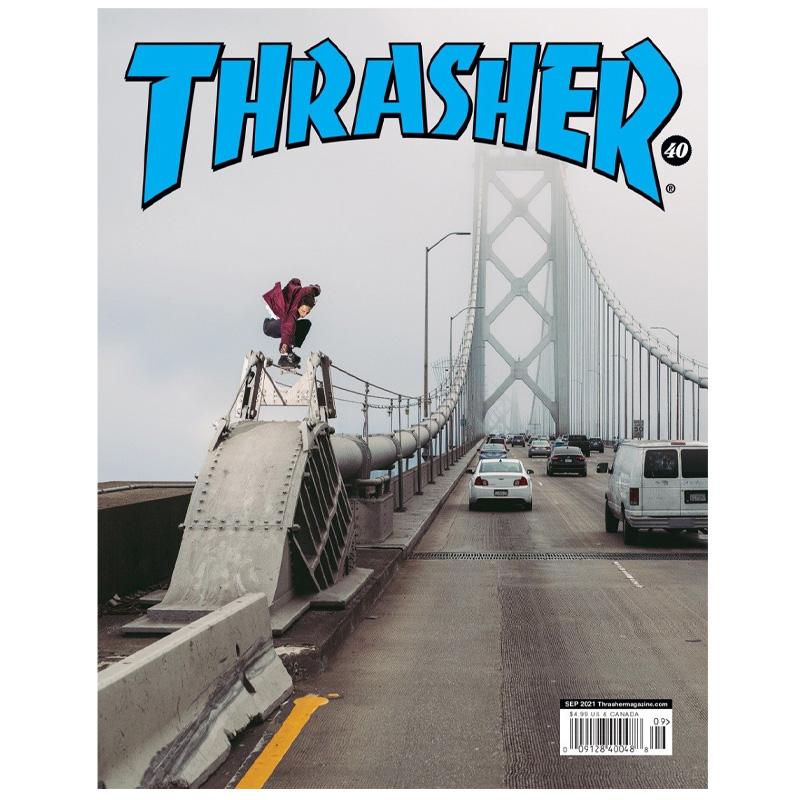 Thrasher Magazine September 2021