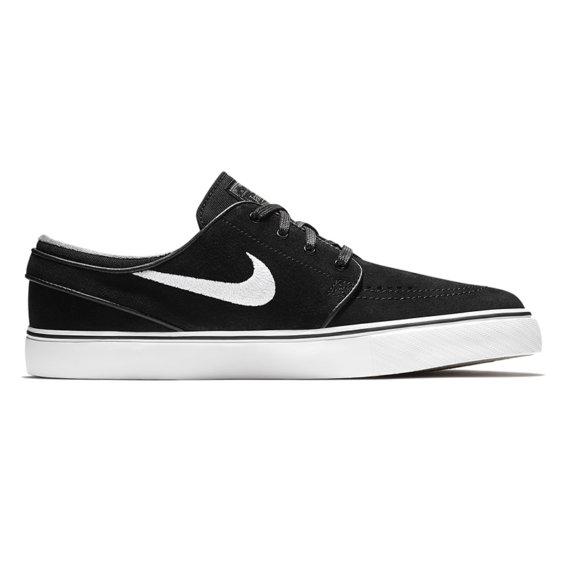 Nike SB Janoski Black/White/Thunder Grey/Gum Light Brown