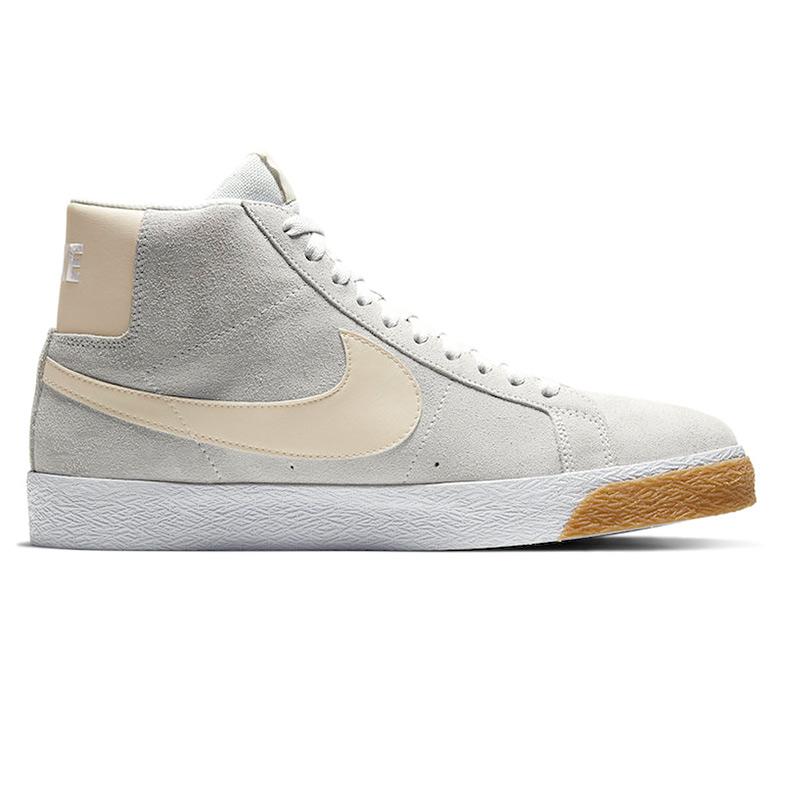 Nike SB Blazer Mid Photon Dust/Light Cream/White/White