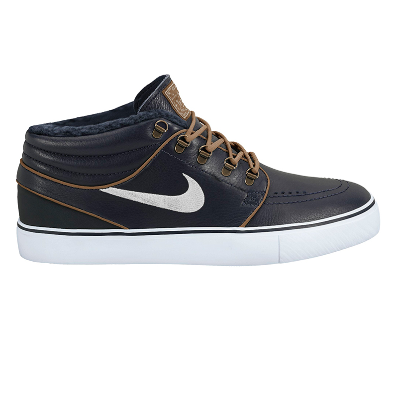 Nike SB Janoski Md Premium Dark Obsidian/Birch Lt British Tan