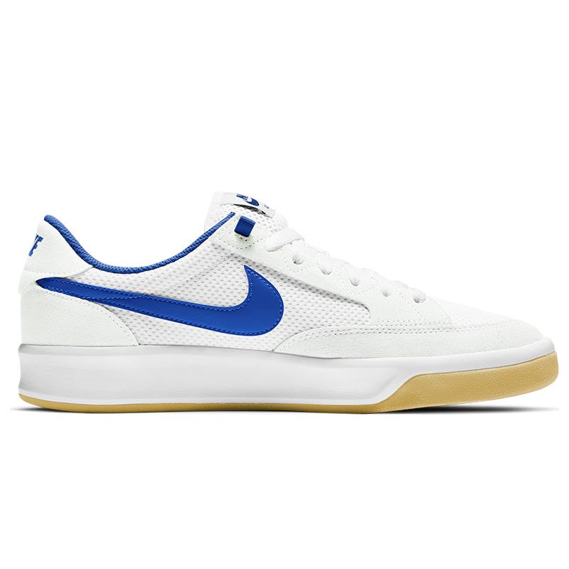 Nike SB Adversary Summit White/Hyper Royal/White