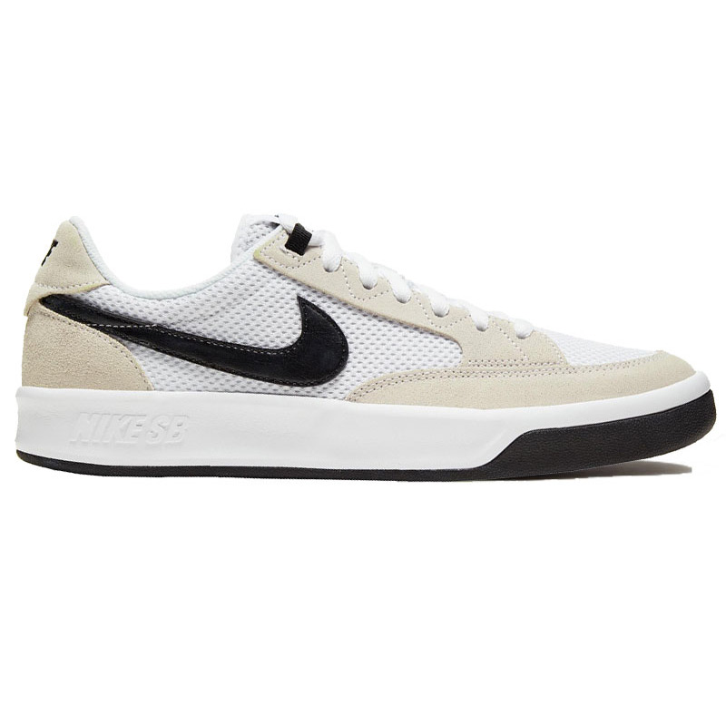 Nike SB Adversary White/Black/White