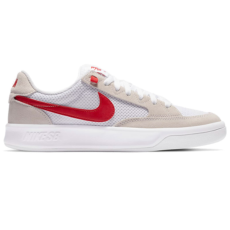 Nike SB Adversary White/University Red/White