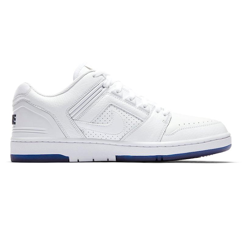 Nike SB Air Force II Low White/White/Blue Void