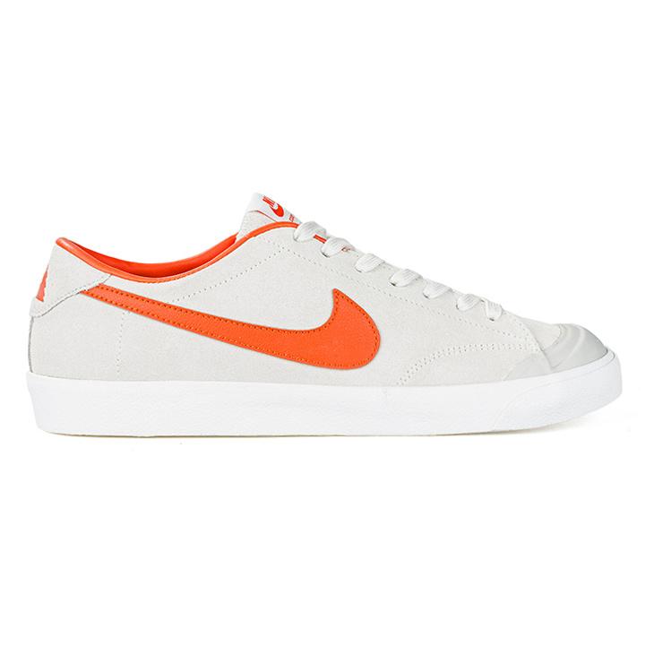 Nike SB X Poler All Court Ck Ivory/University Orange/Light Bone