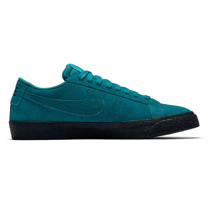 Nike SB Blazer Low Geode Teal/Geode Teal/Black