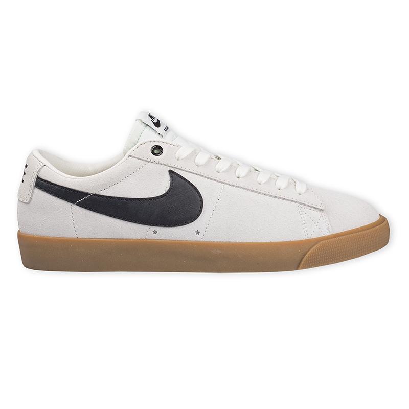 Nike SB Blazer Low Gt Ivory/Black Gum Light Brown