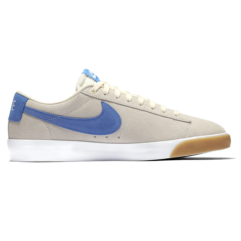 Nike SB Blazer Low Gt Pale Ivory/Pacific Blue/White