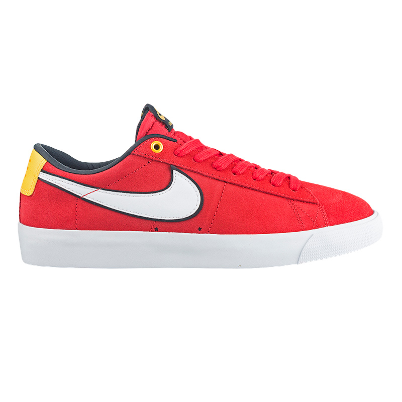 Nike SB Blazer Low Gt University Red/White/Black