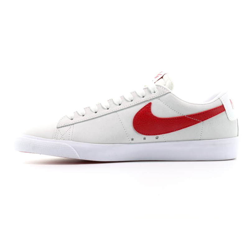 4d5c4421b1a32 Nike SB Blazer Low Gt White University Red. undefined. Loading zoom