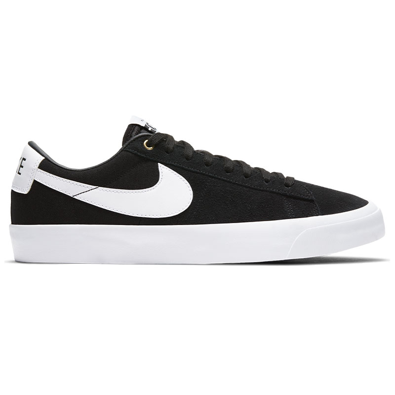 Nike SB Blazer Low Pro Gt Black/White/Black/Gum Light Brown