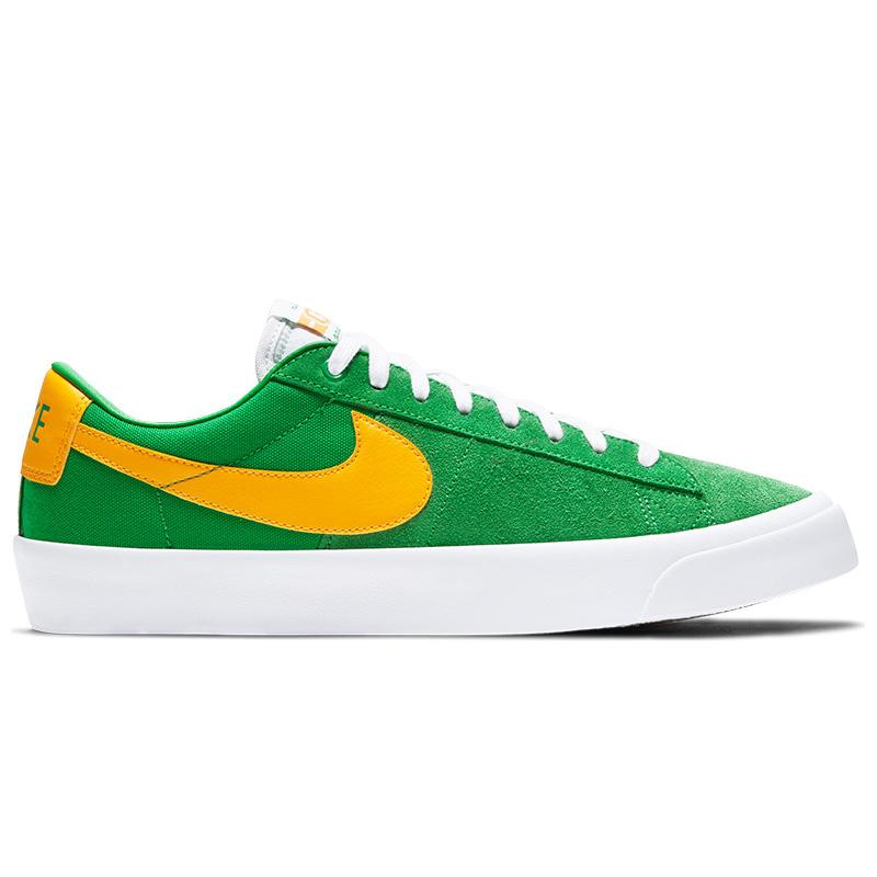 Nike SB Blazer Low Pro Gt Lucky Green/University Gold/Black/White