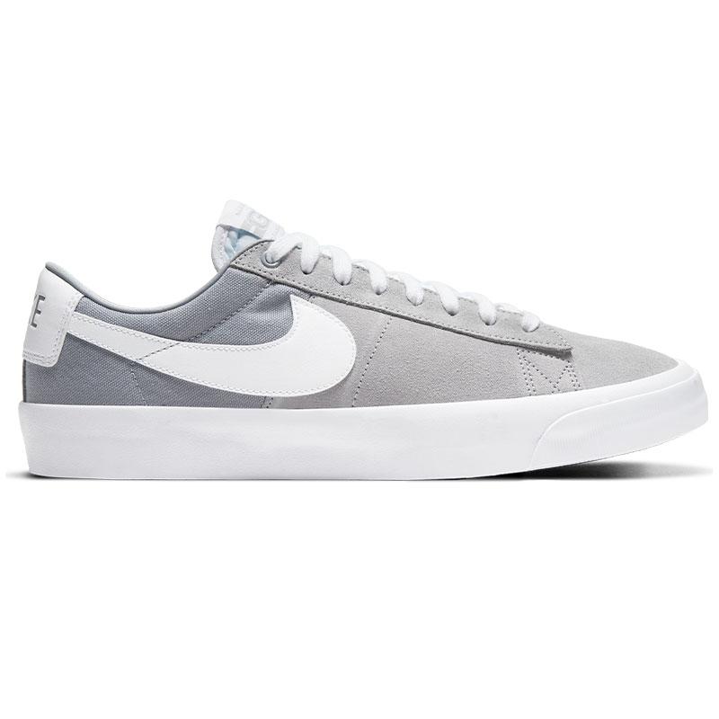 Nike SB Blazer Low Pro Gt Wolf Grey/White/Wolf Grey/White