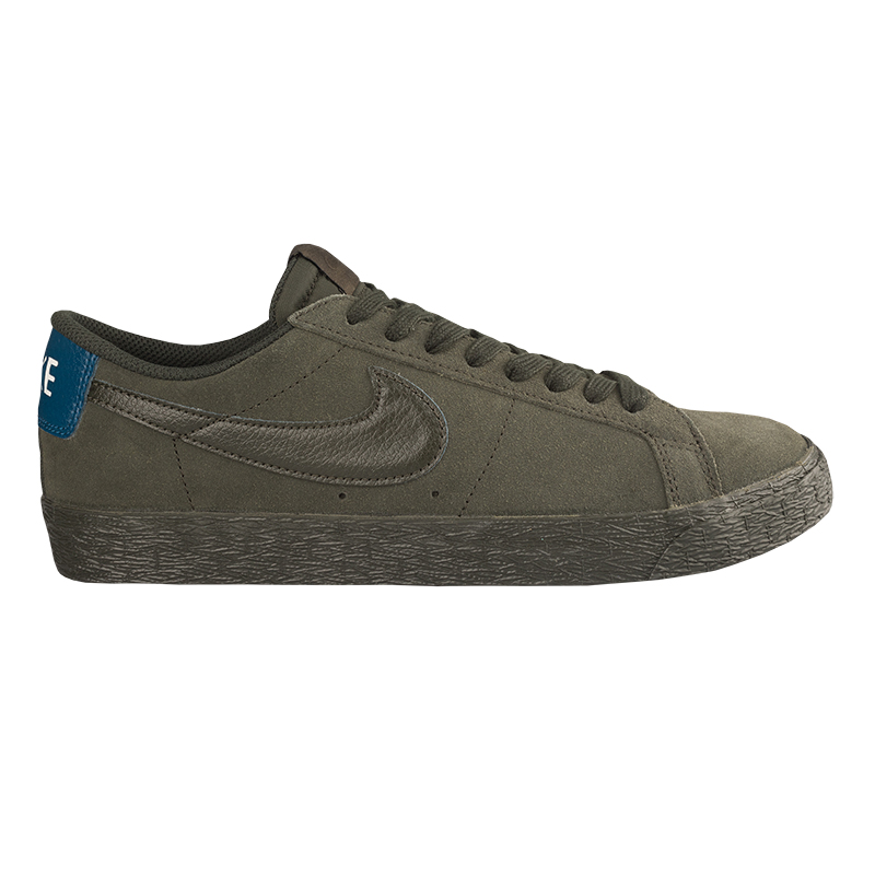 Nike SB Blazer Low Sequoia/Sequoia/Blue Force