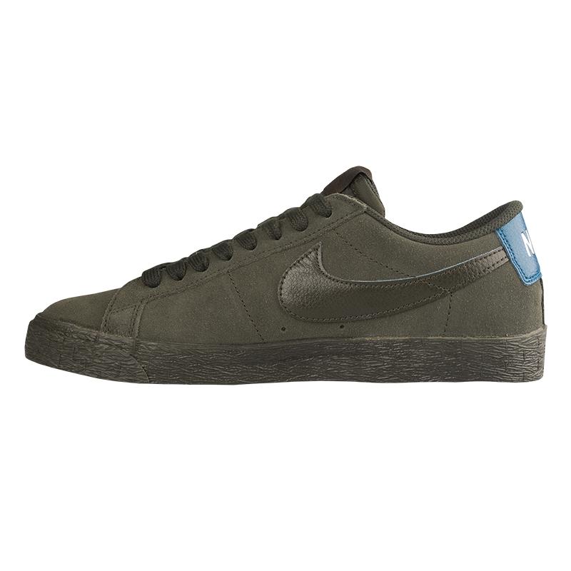 fd32c4c9bfe Nike SB Blazer Low Sequoia Sequoia Blue Force. undefined. Loading zoom