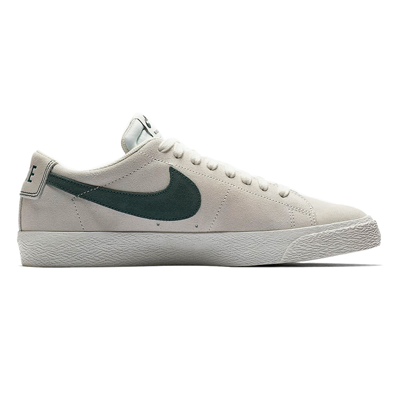 Nike SB Blazer Low Summit White/Deep Jungle