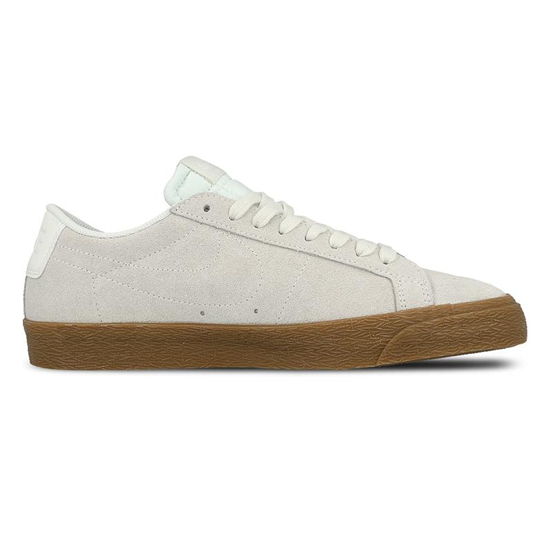 Nike SB Blazer Low Summit White/Summit White Gum/Medium Brown