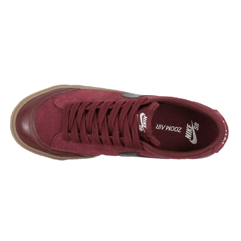 Nike SB Blazer Low Xt Dark Team Red Black Gum Light Brown Sail. undefined.  Loading zoom f4411e724a8f