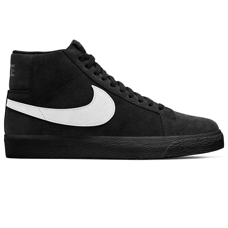 Nike SB Blazer Mid Black/White/Black/Black