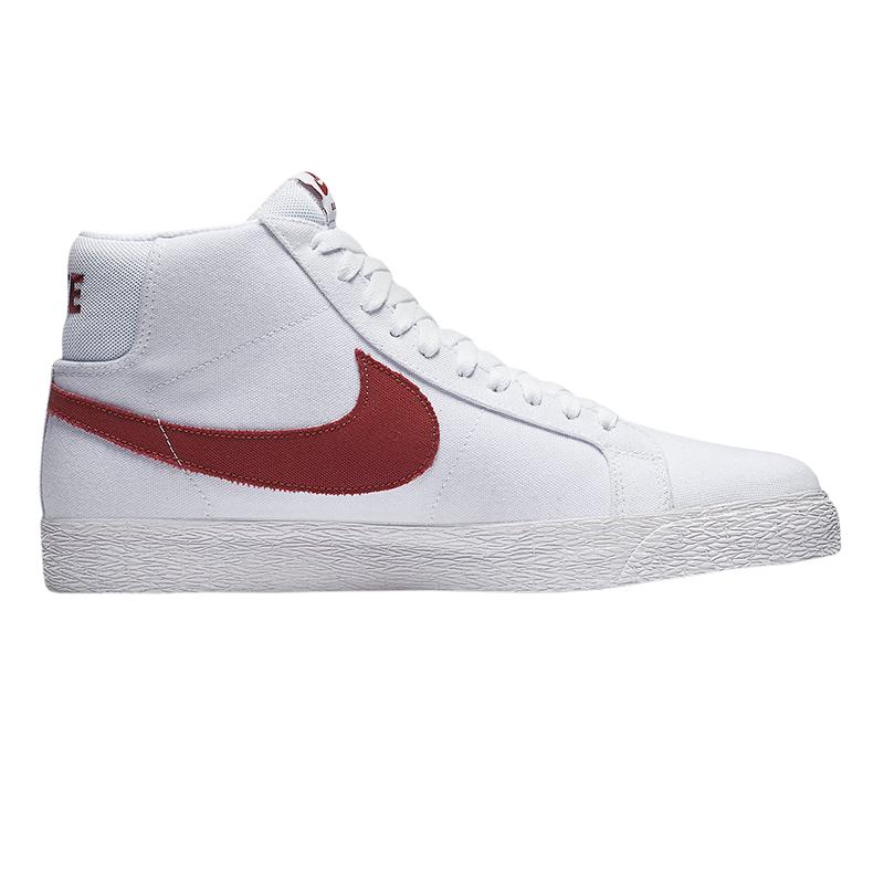 Nike SB Blazer Mid Canvas White/Cedar