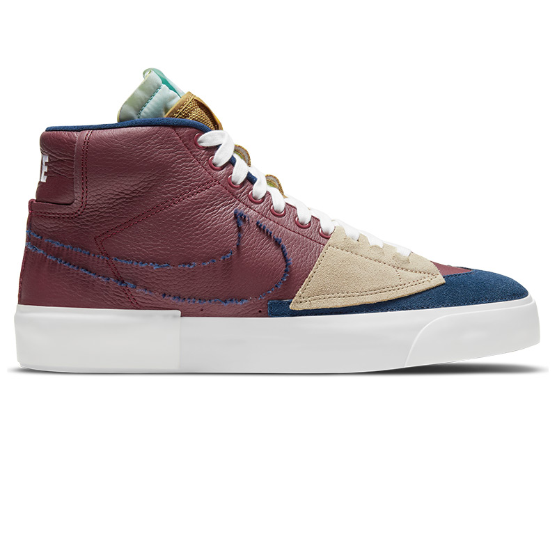Nike SB Blazer Mid Edge L Team Red/Navy/Light Dew/Summit White