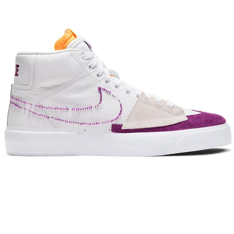 Nike SB Blazer Mid Edge L White/Viotech/White