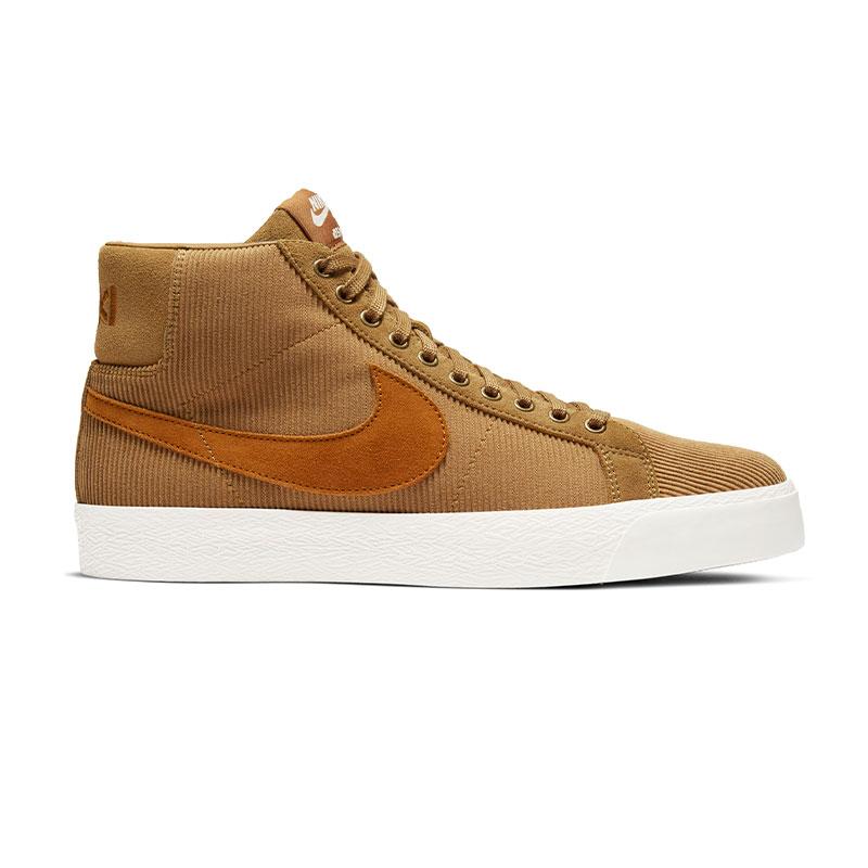 Nike SB Blazer Mid Iso Muted Bronze/Burnt Sienna/Sail