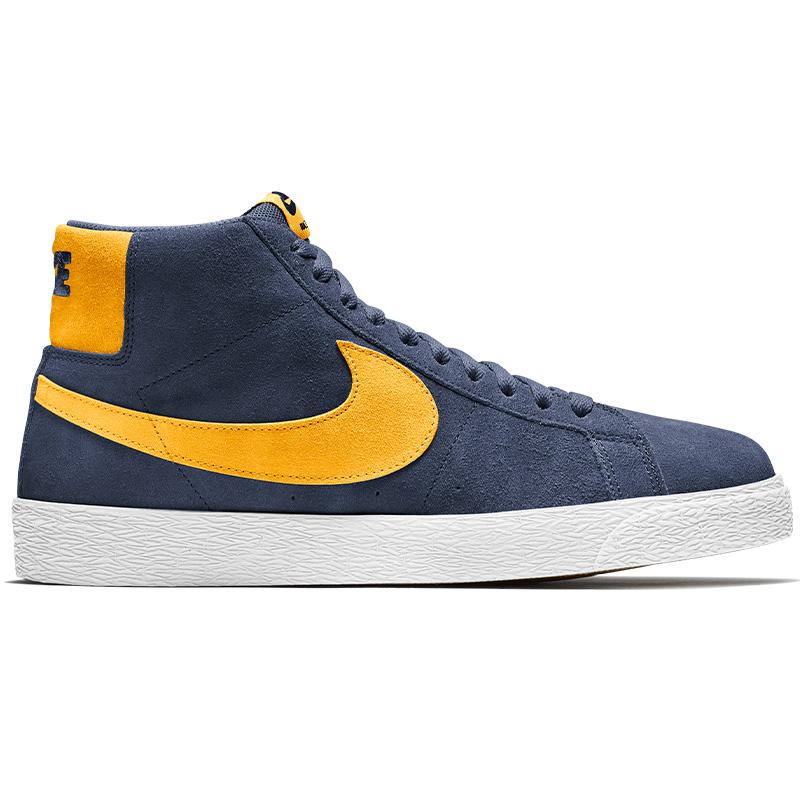 Nike SB Blazer Mid Navy/University Gold/Navy/White