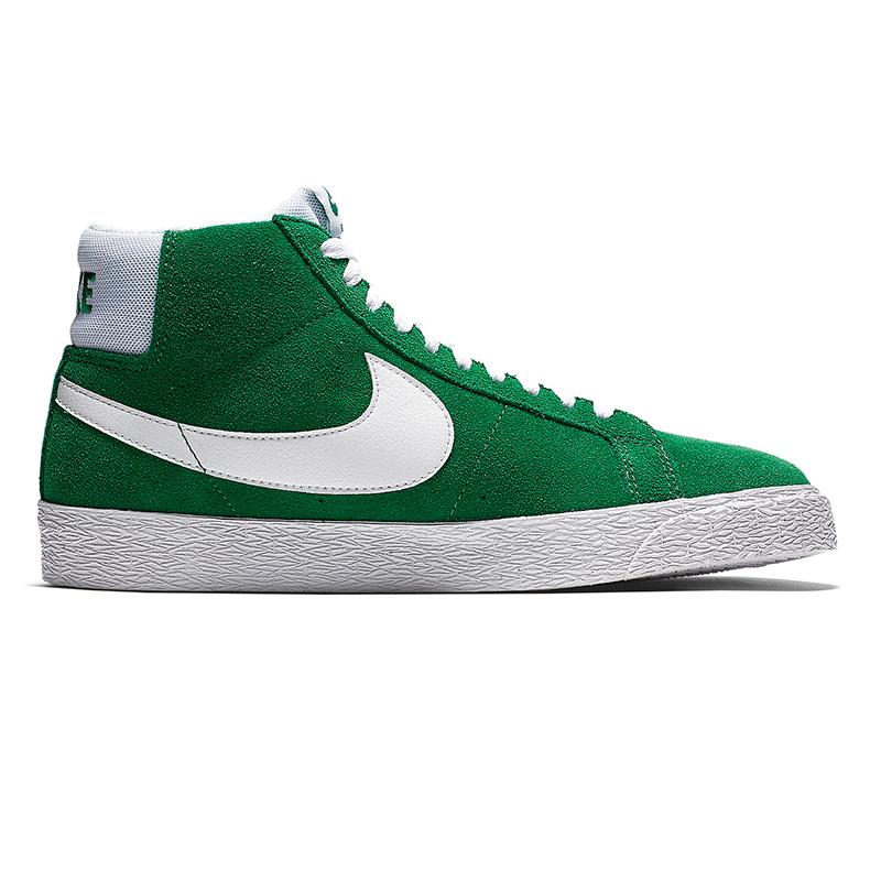 Nike SB Blazer Mid Pine Green/White