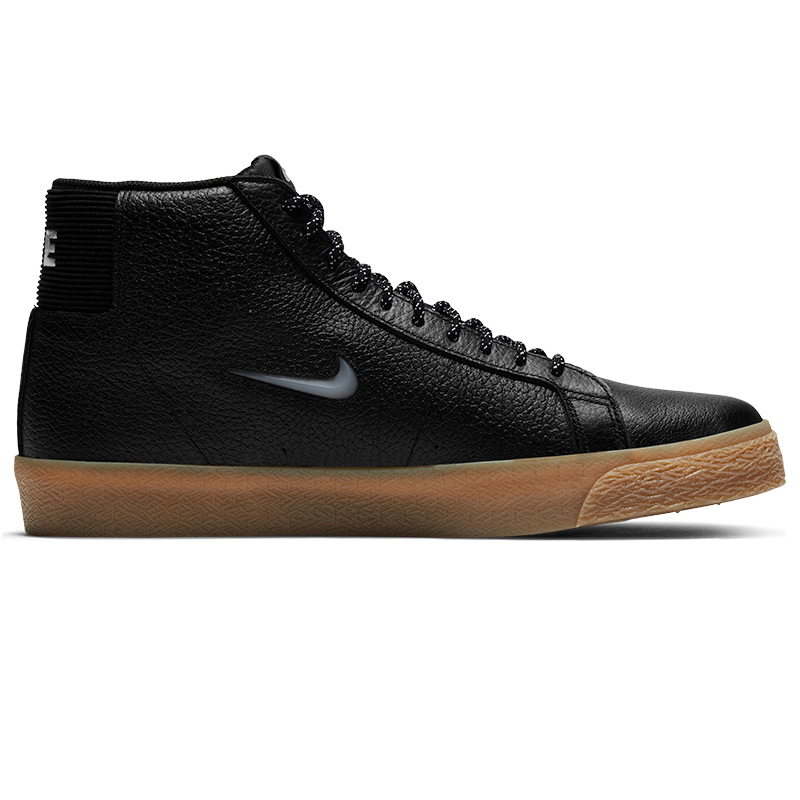 Nike SB Blazer Mid Premium Black/White/Black/Gum Light Brown