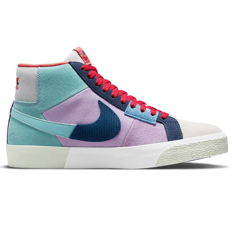 Nike SB Blazer Mid Premium Lilac/Court Blue/Copa/Dutch Blue
