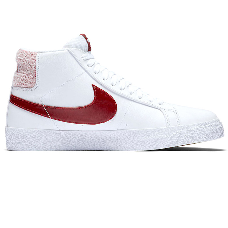 Nike SB Blazer Mid Premium White/Team Red