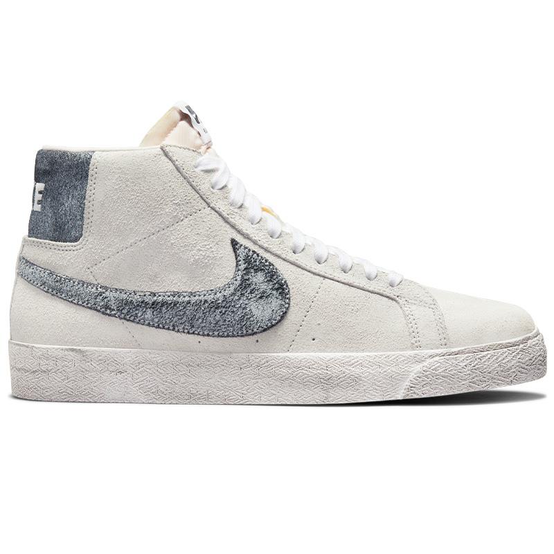 Nike SB Blazer Mid Prm Grey Fog/Black/White