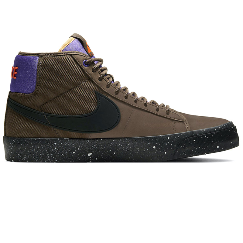 Nike SB Blazer Mid Pro GT Trails End Brown/Black/Prism Violet