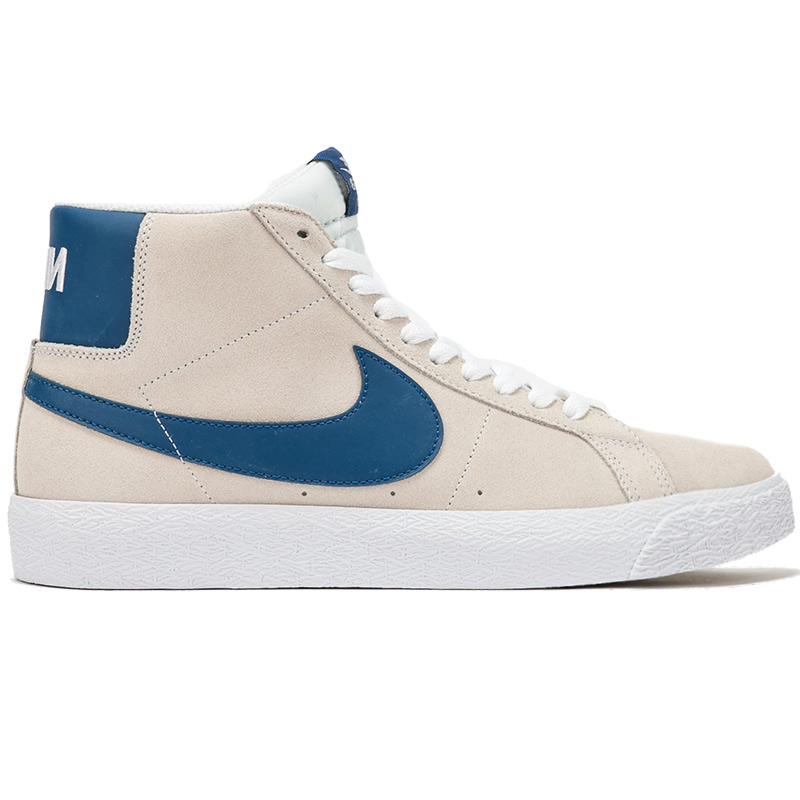 Nike SB Blazer Mid White/Court Blue/White/White