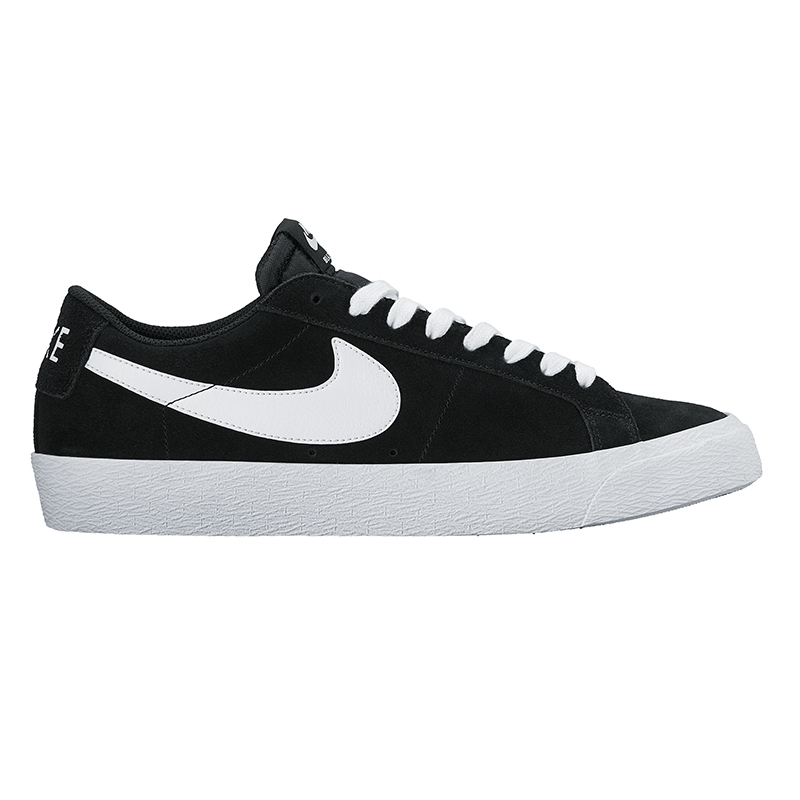 Nike SB Blazer Low Black/White/Gum Light Brown