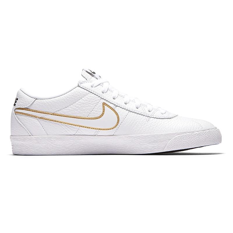 Nike SB Bruin Premium Se White/White/Metallic Gold/Black