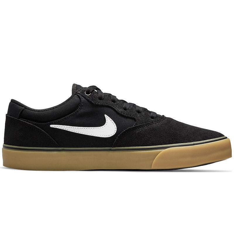 Nike SB Chron 2 Black/White/Black/Gum Light Brown
